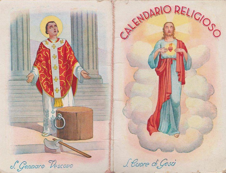 Calendario Religioso.1941 1 Calendario Religioso