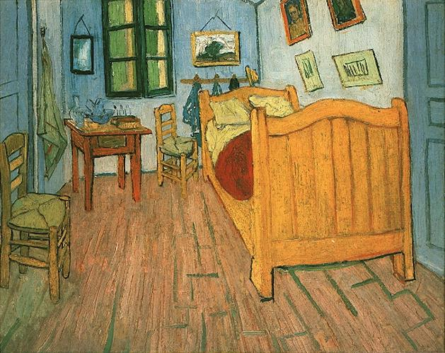 La camera di Arles di Van Gogh