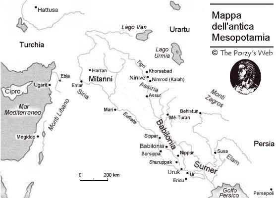 Cartina Mesopotamia Muta.Introduzione All Epopea Di Gilgamesh