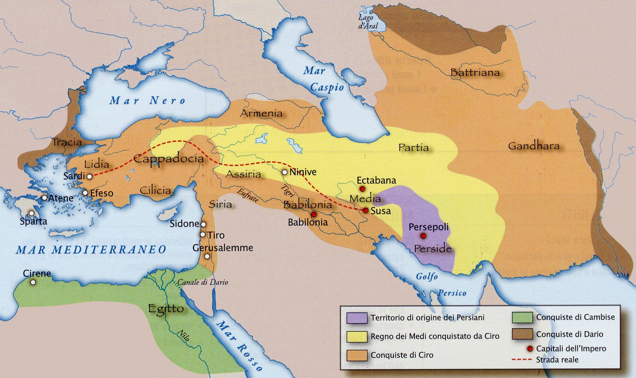 impero persiano L'impero Persiano Storia