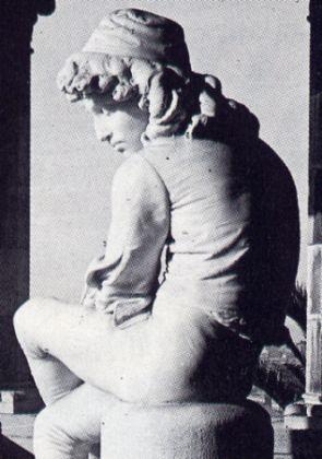 Statua di Colombo da giovane, Claudio Monteverde, 1870